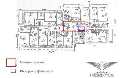 Рисунок 1. План 12-го этажа жилого дома