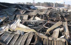 Обследование конструкций, подвергшихся воздействию пожара