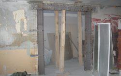 Устройство и усиление проемов в несущих стенах