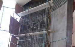 Усиление стен и фундаментов железобетонными обоймами