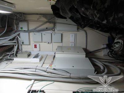 Фото 12. Помещение электрощитовой на первом этаже в осях 2-1_Б-А