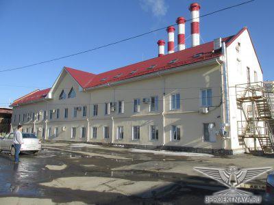 Фото 3. Фасад здания в осях 4-1_Г