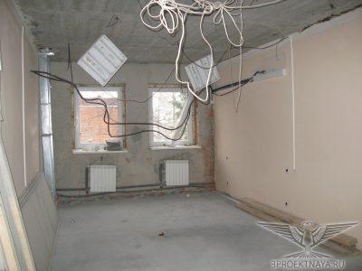 Фото 2. Общий вид помещения на 3-ем этаже в осях Г-Б_1-2