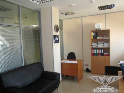 Фото 6. Кабинет на мансардном этаже в осях 3-2_В-Г